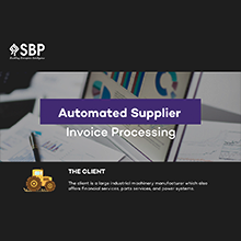Automated Supplier Invoice Processing