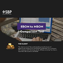 EBOM to MBOM Comparison Tool