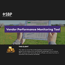 Vendor Performance Monitoring Tool